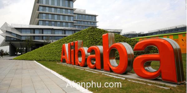 Dat Hang Tren Alibaba Cong Ty
