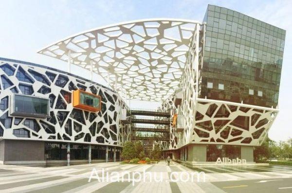 Dat Hang Tren Alibaba Tong Cong Ty