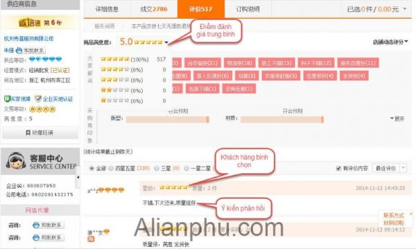 Kinh Nghiem Mua Hang Tren Alibaba Danh Gia