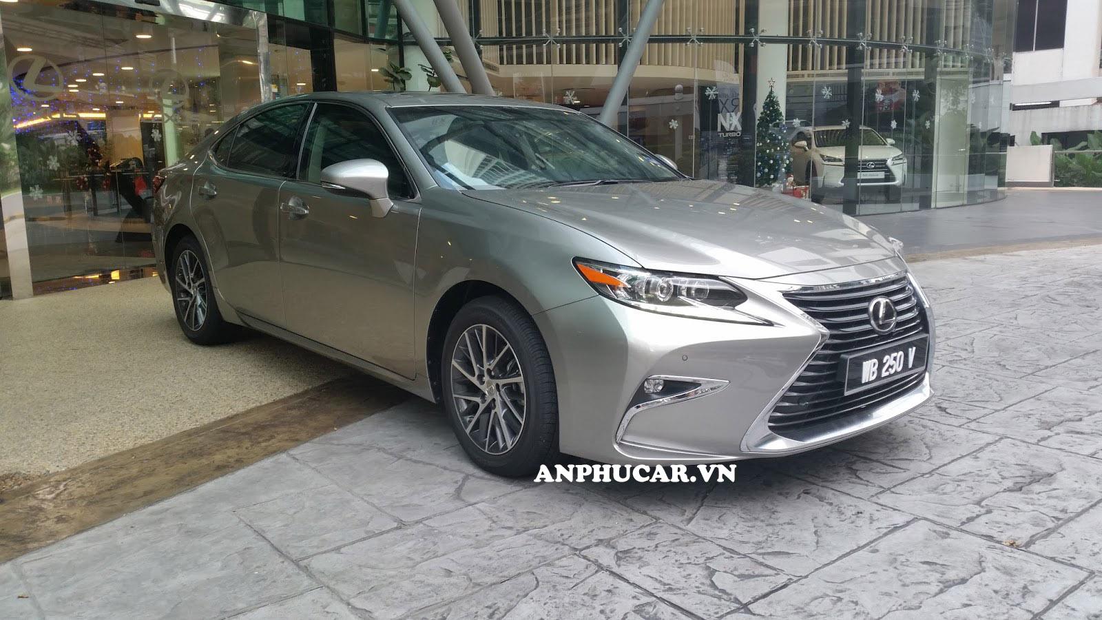 Thiết kế của Lexus ES250 2019