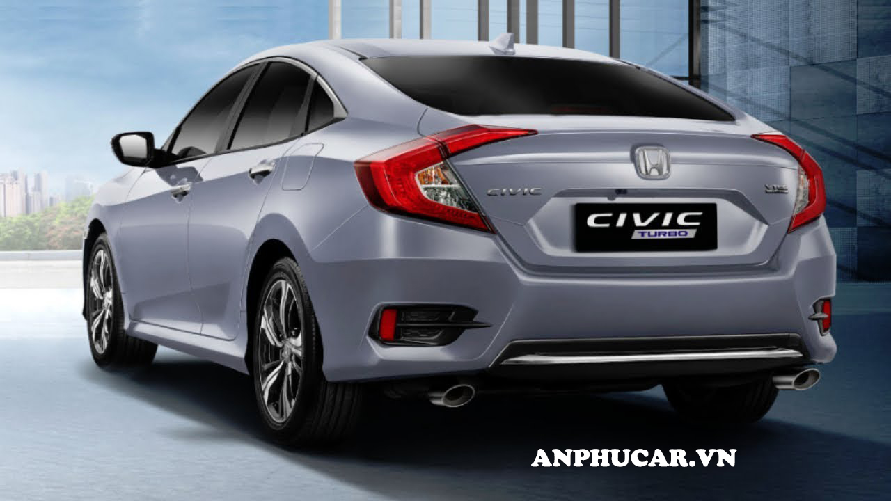 Đuôi xe Honda Civic 2020