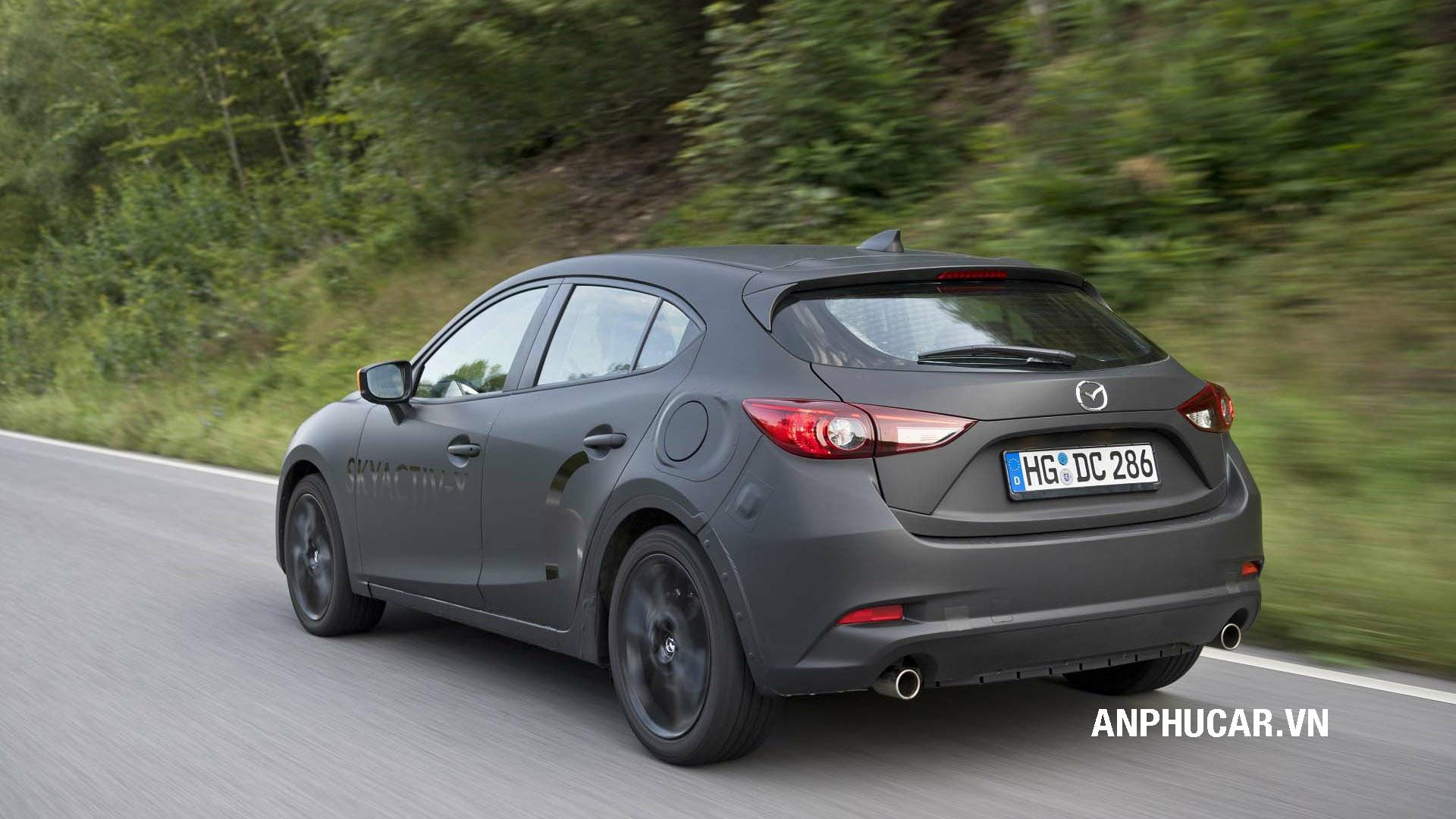 Thân xe Mazda 3 2020