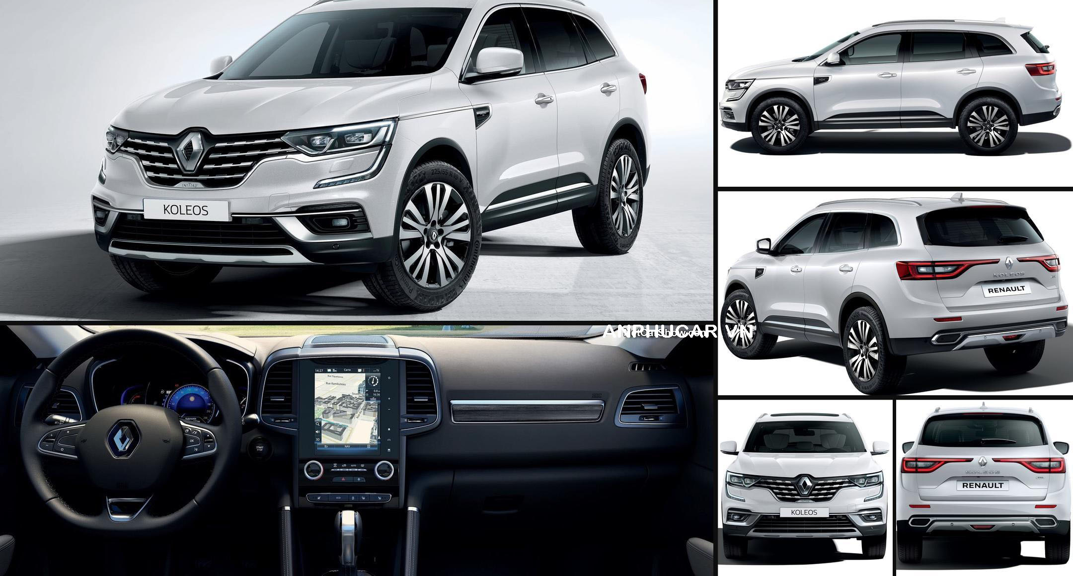 Renault Koleos 2020 tổng quát xe Renault Koleos 2020
