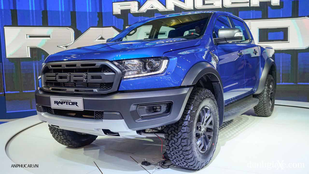 Ford Ranger Raptor 2020 ngoai hinh