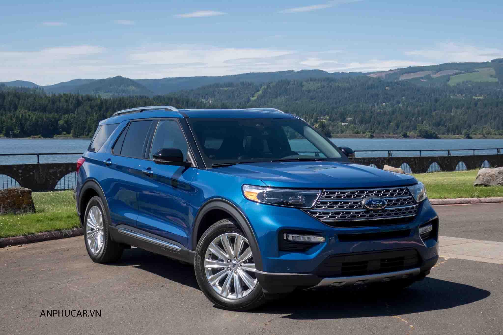 Ngoại hình Ford Explorer 2020