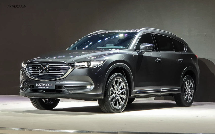 Ngoại thất Mazda cx8 2020