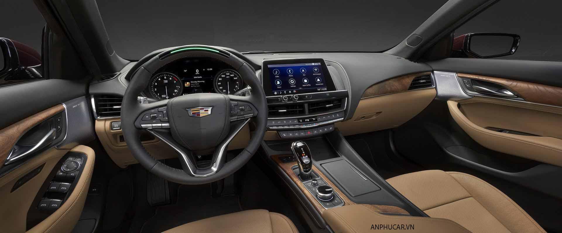 Nội thất xe Cadillac CT5 2020