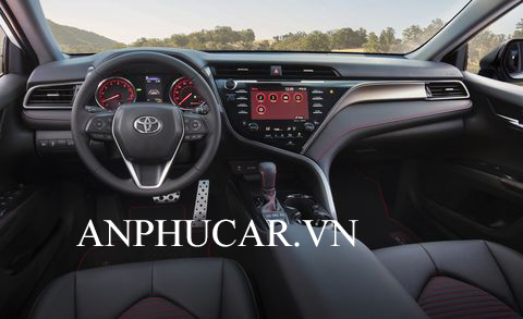 Nội thất Toyota Camry 2020