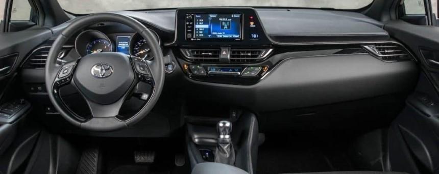 Toyota C-HR 2020 noi that