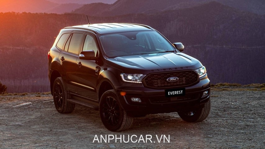 Ford Everest 2020 ngoai that