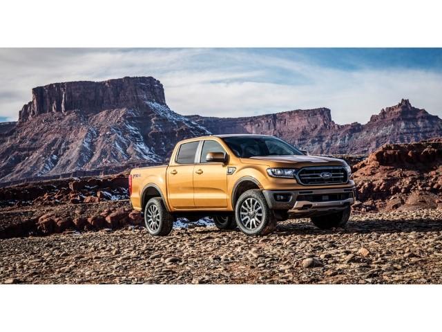 The he moi Ford Ranger 2020 van hanh
