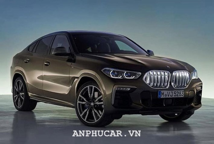 BMW X6 2020 tra gop