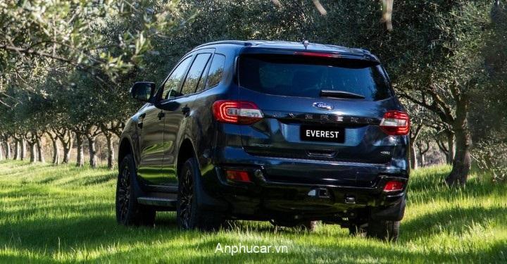 Bang Gia Xe Ford Everest 2020 Duoi Xe