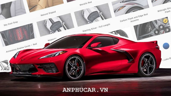 Chevrolet Corvette C8 2020 thong so