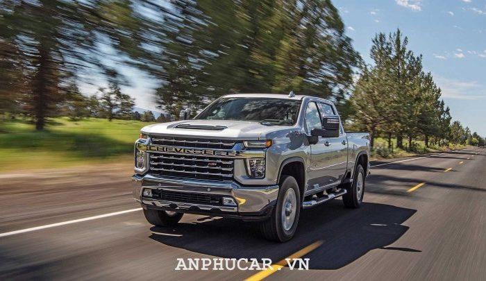 Đánh giá chi tiết siêu bán tải Chevrolet Silverado HD 2020