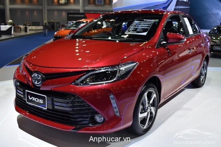 Gia Xe Toyota Vios 2020 Tai Viet Nam